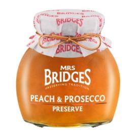 Mrs Bridges Jam Perzik en Prosecco