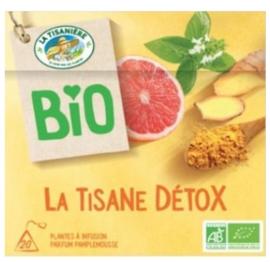 La Tisaniere Biologische Detox lijn thee