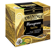 Twinings Tea Pods Nespresso Honeymoon Vanille