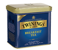 Twinings Losse thee in blik Breakfast Thee 200  gram
