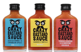 Crazy Bastard Hot Sauces!