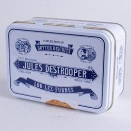 Jules Destrooper Selectie van boterkoekjes in retro blikje
