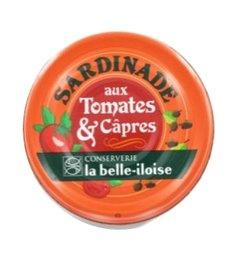 La Belle-Iloise - Sardines met Tomaten & Kappertjes