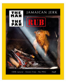The MAN with the PAN Jamaican Jerk rub