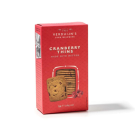 Verduijn's Cranberry Thins