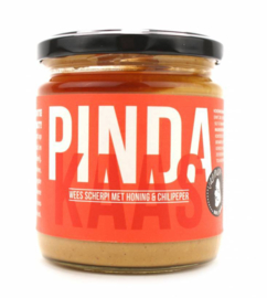 VANMAX Pindakaas met Honing en chili pepertjes