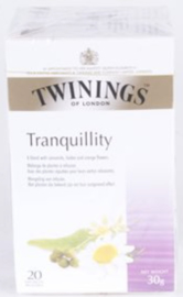 Twinings Welness Tranquility 20 st. (wit)