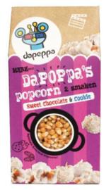 Dapeppa extra grote Popcorn Zoet  (Incl. Chocolate en Cookies kruidenmixen)