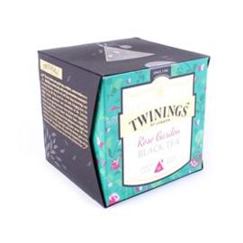 Twinings Platinum Rose Garden 15 st. (zwart)