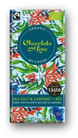 BIO Chocolate and Love Sea Salt Caramel 55%