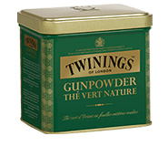 Twinings Losse thee in blik Gunpower Green 200 gram