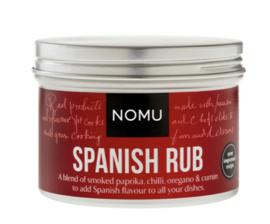 NOMU Spanish Rub (paella, garnalen, varken, gevogelte, zeevis, schaaldieren, olijven)