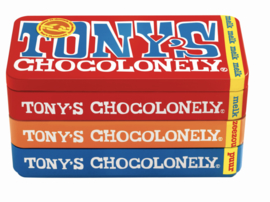 Tony's Chocolony stapelblik 3 repen