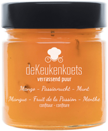Keukenkoets Mango Passievrucht 80%  met Munt