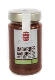 BIO 100% fruit Rabarber aardbei suikervrij Mariënwaerdt