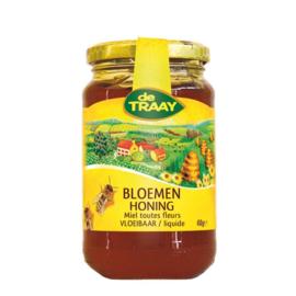 De Traay Bloemen Honing Vloeibaar 450 gram