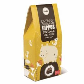 BARÚ Gourmet Hippo Milk Chocolate Honey Almond