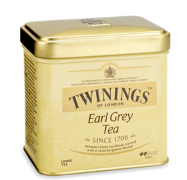 Twinings Thee Los in blik Earl Grey 200 gram