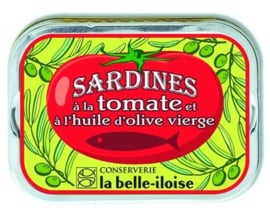 La Belle-Iloise - Sardines in de olijfolie met tomaat