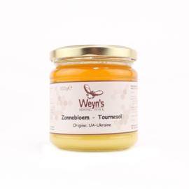 Weyn's Zonnebloem Honing 500 gram (vast)