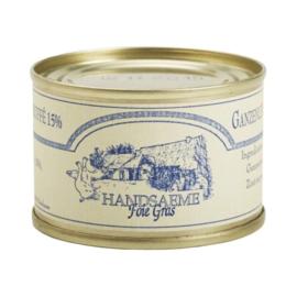 Handsaeme Foie Gras Gans Bloc met truffel in blik