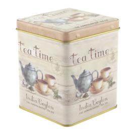 Theeblikje Tea Time