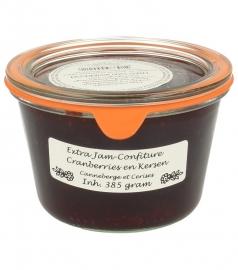 Woerkom's cranberries-kersen confituur