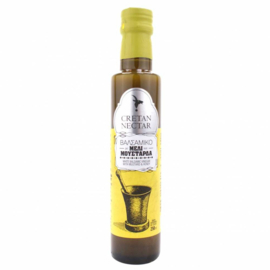 Cretan Nectar Witte Balsamico Vinegar met honing en mosterd