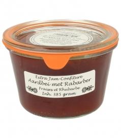 Woerkom's aardbeien-rabarber delicatesse confituur