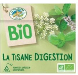 La Tisaniere Biologische Digestion thee (spijsvertering)