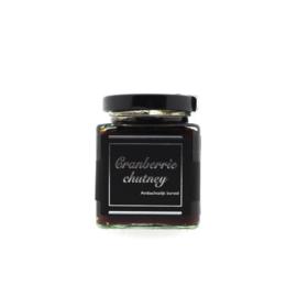 Van Woerkom Black Label Confiture Cranberry Chutney Vierkant