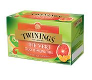 Twinings Pompelmoes & Mandarijn 20 st. (groen)