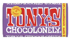 Tony's Chocolonely Melk Kaneelbiscuit