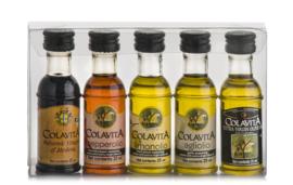 Colavita Olijfolie cadeausetje 5 flesjes