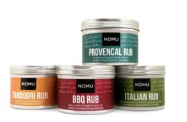 NOMU Zuid Afrikaanse kruiden Rubs en Montosco Grinders XL