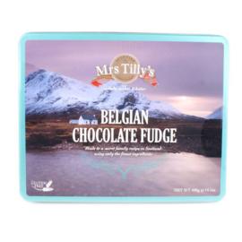 Mrs Tilly's Chocolate fudge gift tin