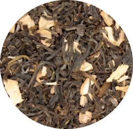 Groene thee met biologische gember
