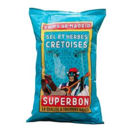 Superbon Chips Cretan 135 gram
