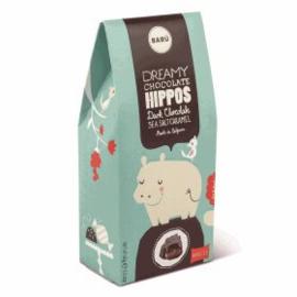 BARÚ Gourmet Hippo Dark Chocolate & Sea Salt