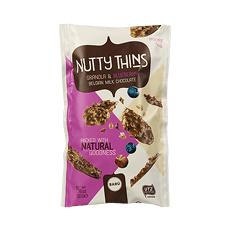 BARÚ Nutty Thins Granola & Blueberry (6 zakjes)