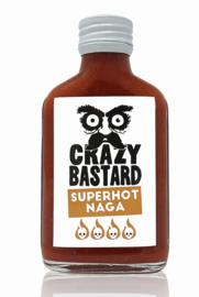 Crazy Bastard SUPERHOT Naga Chili Pepper Sauce (Ghost)