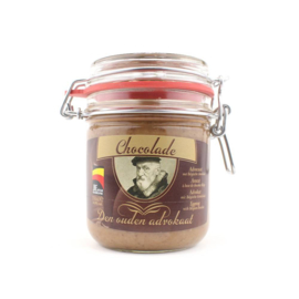 Den Ouden Advocaat chocolade 350 ml.  weckpot