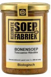 BIO Ribollita (Toscaanse Groente-Bonensoep) Kleinste Soepfabriek