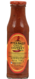 2 stuks Mrs H.S. Ball's Chutney Chili (THT jan 2021 )