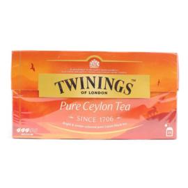 Twinings Thee Pure Ceylon 25 st. (zwart)