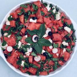 Kiooms Aardbeien dressing met Balsamico