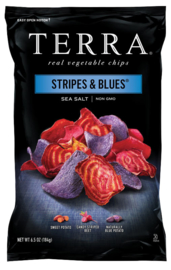 Terra chips Stripes & Blues