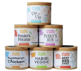 Natural Spices Essential Box (=5+1 Gratis)