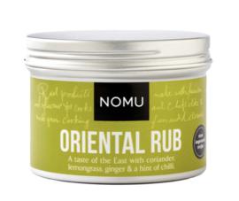 NOMU Oriental Rub BBQ *THT 31-5 2021 (eend, kip, rund, varken, of door groenten)