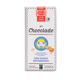 JD Diesch Luxe Chocoladereep Wit met Boterbabbelaars